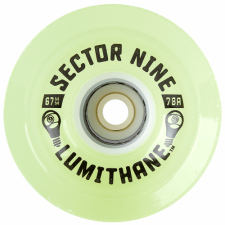 Колеса SECTOR9 LUMITHANE GLOW WHEELS